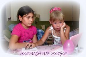 Дамла и Даша в Анталье